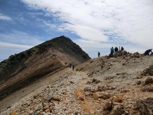 蚕玉岳から剣ヶ峰
