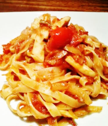 パスタトマトソース