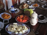 breakfast in Baucau