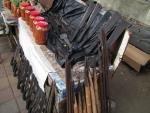 sambal and edged tools