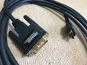 HDMI-DVI 変換ケーブル