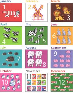リサ・ラーソン カレンダー