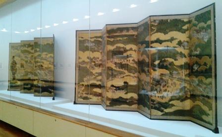 厳島神社 屏風