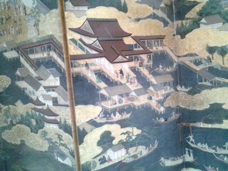 屏風 厳島神社