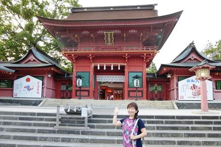 浅間神社 楼門