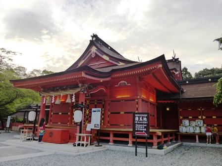 浅間神社 拝殿