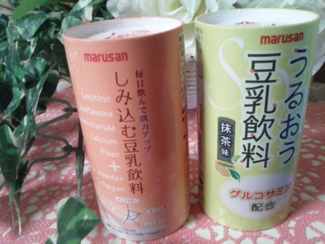 しみ込む豆乳 2種類