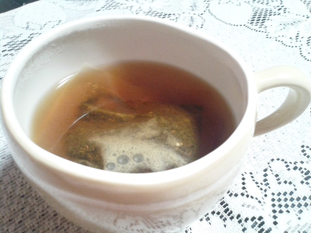 するっとすっとん茶 2分後