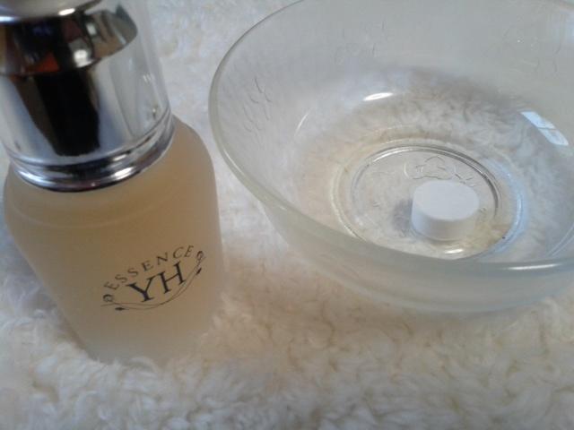 YH化粧品 エッセンス準備