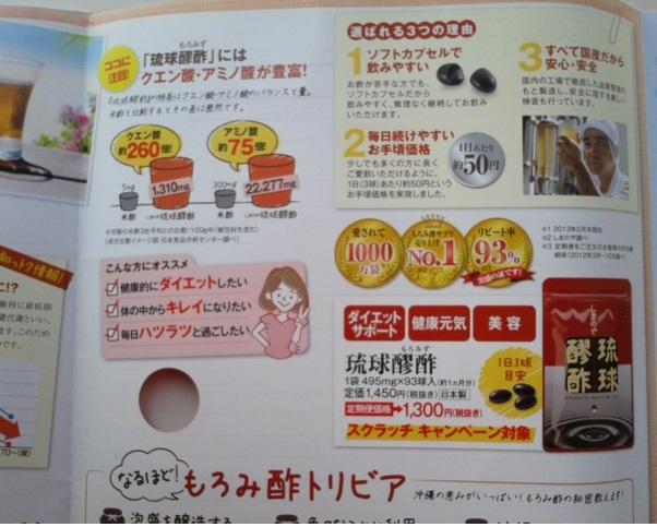 琉球醪酢 パンフ1
