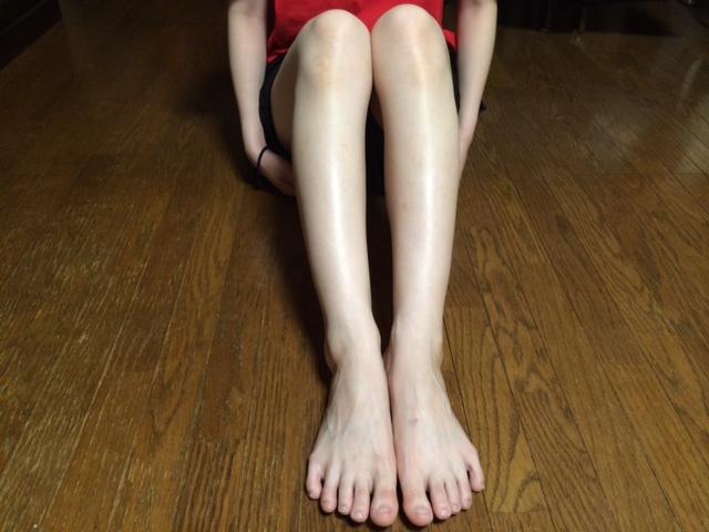 アセチノスマート 亜由美の脚②201407