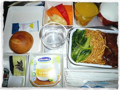 ベトナム航空朝食
