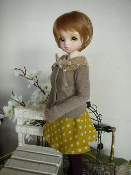 ドルミス戦利品 黄色いスカート 4