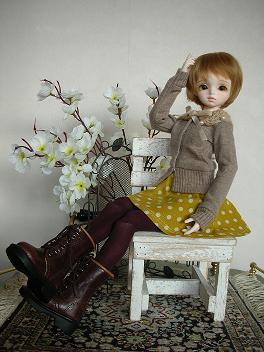 ドルミス戦利品 黄色いスカート 5