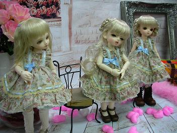 三つ子オソロ服(ローゼン) 16