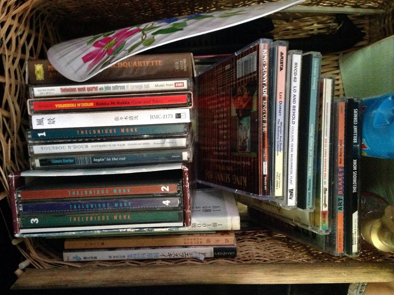 車内CDコレクション