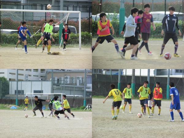 京都工芸繊大学サッカー部OB戦-4
