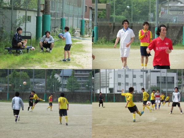 京都工芸繊大学サッカー部OB戦-9