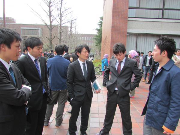 京都工芸繊維大学 卒業式 '14 4