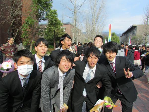 京都工芸繊維大学 卒業式 '14 5