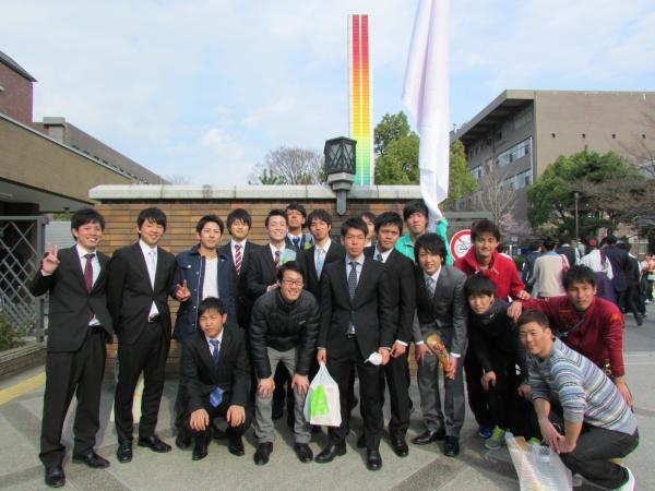 京都工芸繊維大学 卒業式 '14 2