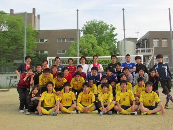 京都工芸繊大学サッカー部OB戦-11