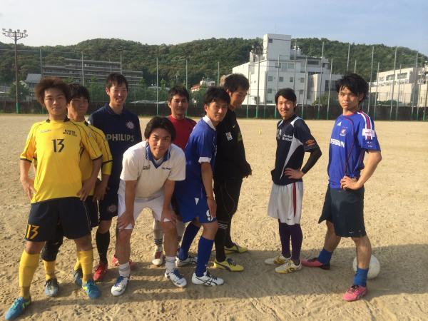 京都工芸繊大学サッカー部OB戦-2