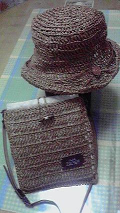 手編みの帽子 【ダルマ】 クラフトクラブ