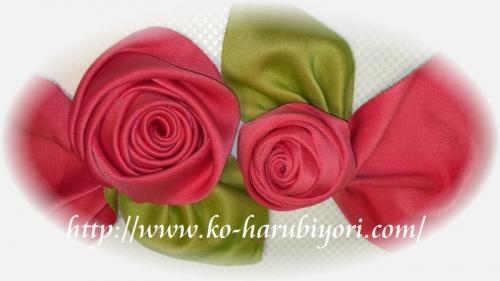 浴衣帯結び「バラの作り方」
