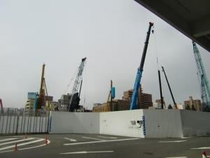 新市庁舎建設中5