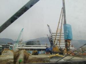 新市庁舎建設中2