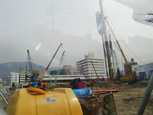 新市庁舎建設中1