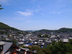 西国寺からの眺望
