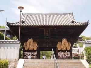 西国寺仁王門