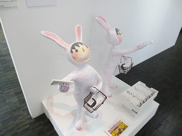 呉亜沙展示