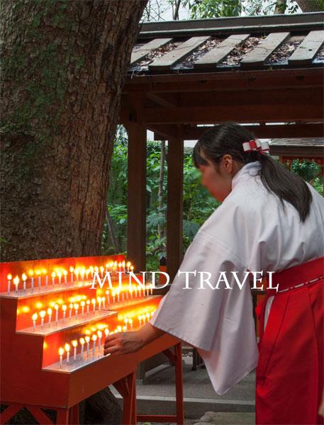 生田神社 巫女さん