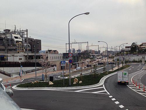 阪急御影駅北側