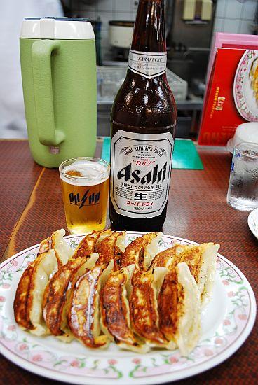 瓶ビール&よく焼き