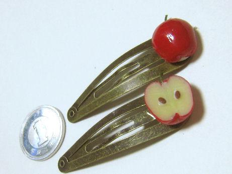 リンゴのパッチンピン02272