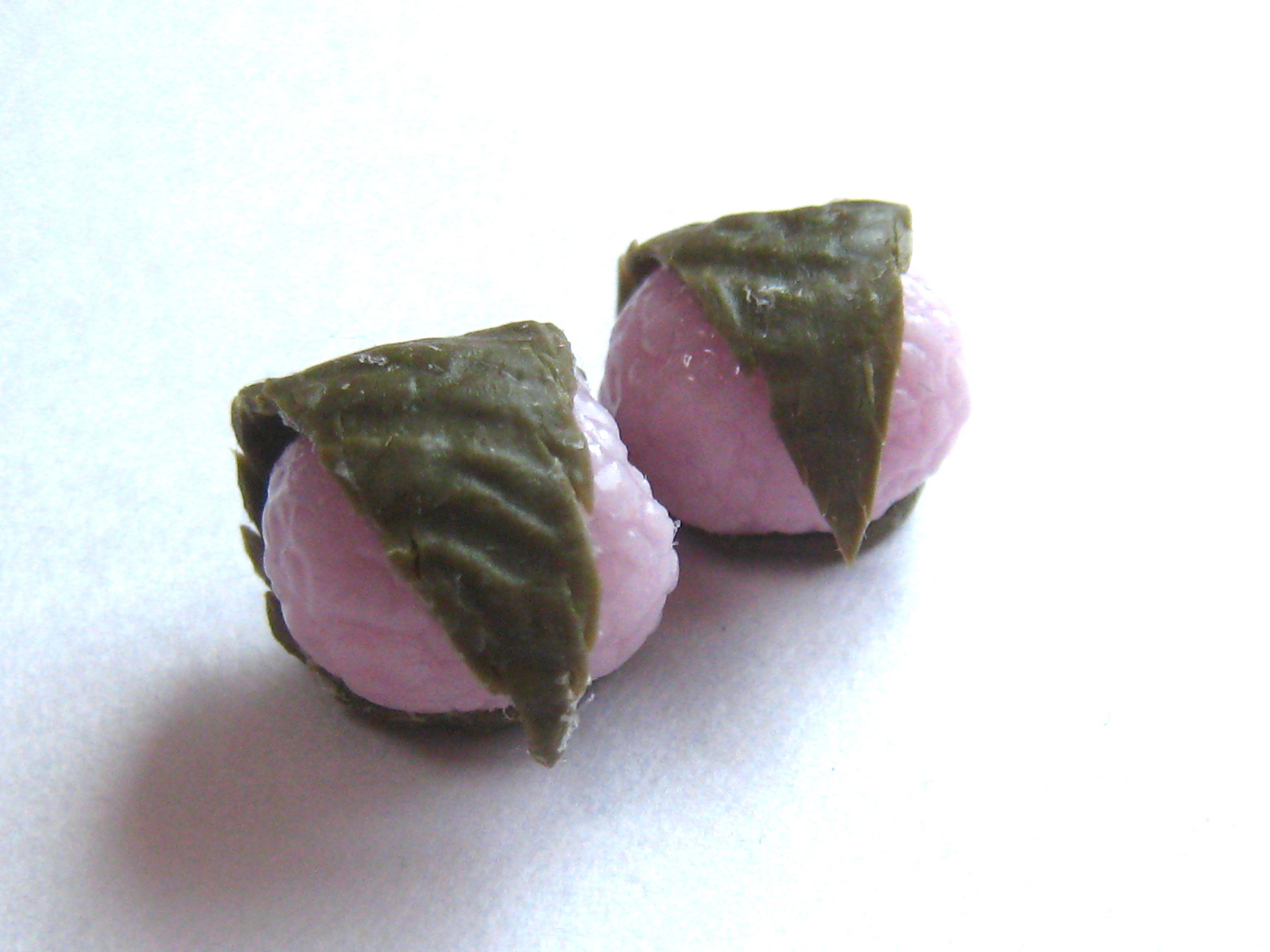 ミニチュア桜餅04252