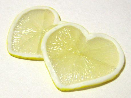 ハートのレモンスライス04261