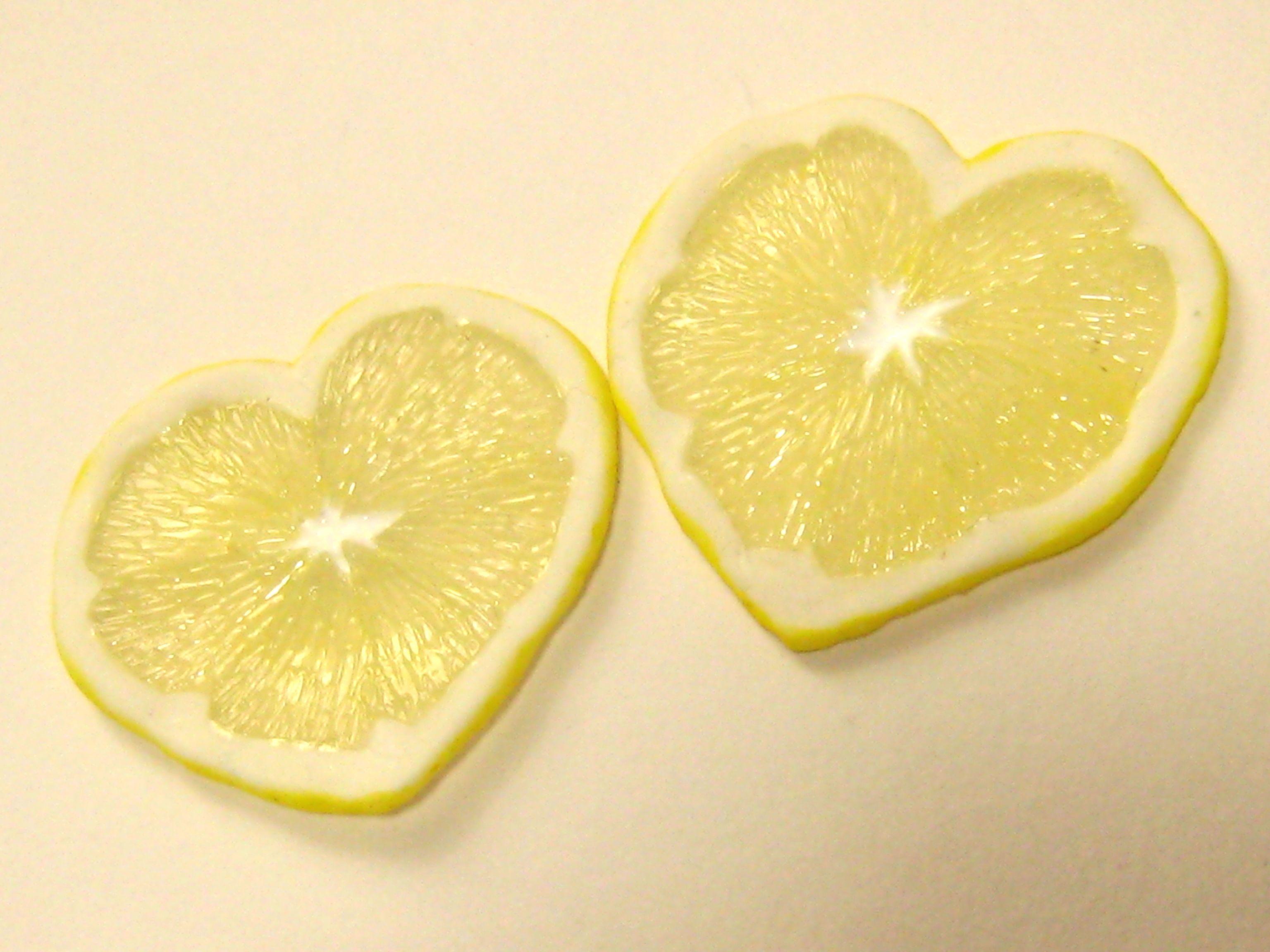 ハートのレモンスライス05231