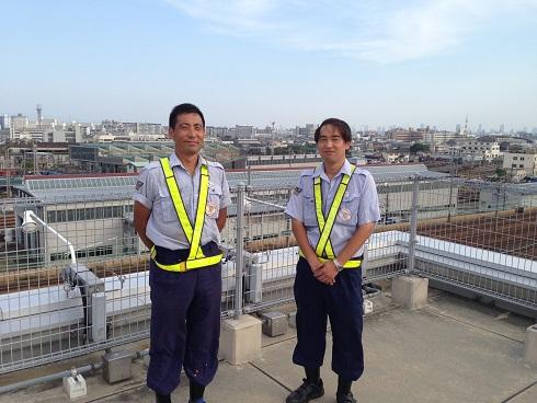 駅長と中山さん