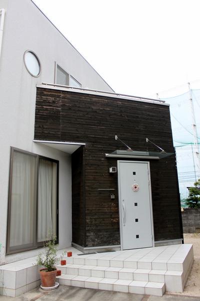 玄関張り替え工事①
