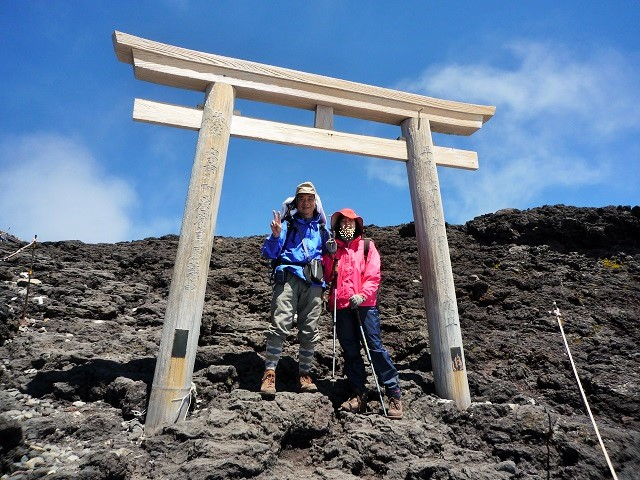 富士登山・9