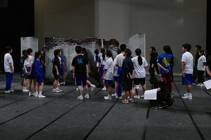 中学選抜リハ