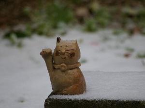 雪とねこ2