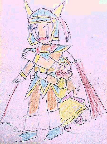 ハグの日に描いた勇ロラ。