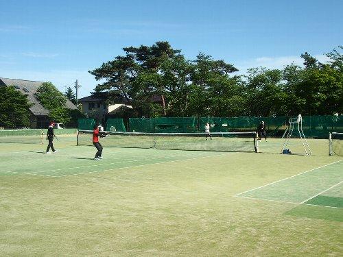 テニス試合