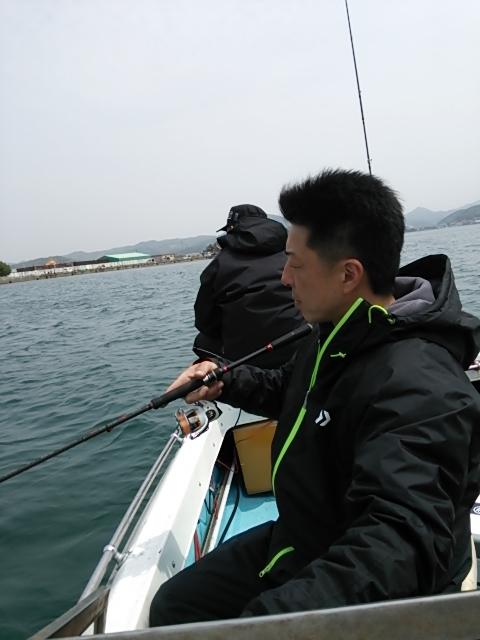 ボートエギング1